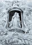 Virgin Mary statue in Valencia Royalty Free Stock Image