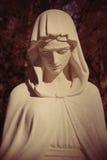Virgin Mary (styled retro) Royalty Free Stock Image