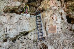 Virgin Mary, Sumidero Canyon - Chiapas, Mexico stock photos