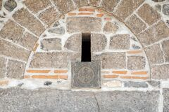 Free Virgin Mary Syriac Orthodox Church In Diyarbakir, Turkey. A Detail Of The Outer Wall Of The Church. Royalty Free Stock Photo - 184224275