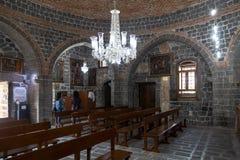 Free Virgin Mary Syriac Orthodox Church In Diyarbakir, Turkey. Detail From Inside The Church. Stock Photos - 184224533