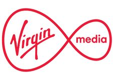 Virgin Media logo royalty ilustracja
