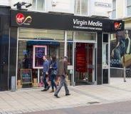 Virgin Media Shop in Leeds. Royalty Free Stock Images