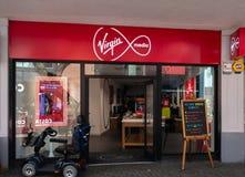 Virgin Media sklepu pierzeja obraz royalty free