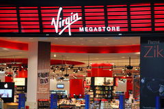 Virgin Megastore Royalty Free Stock Photo