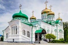 The Virgin Monastery of Raifa. Orthodox monastery in Kazan, Tatarstan, Russia Royalty Free Stock Images