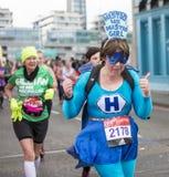 Virgin Money London Marathon, 24th April 2016. Royalty Free Stock Photos
