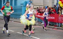 Virgin Money London Marathon, 24th April 2016. Royalty Free Stock Photo