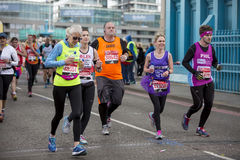 Virgin Money London Marathon, 24th April 2016. Royalty Free Stock Photography
