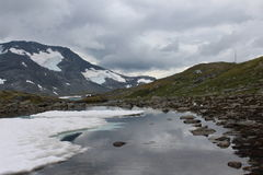 Virgin nature of Norway. Stock Photography