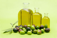 Virgin olive oil Stock Photo