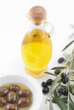 Virgin olive oil Royalty Free Stock Photography