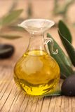 Virgin olive oil Stock Photography