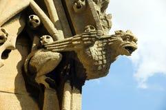 Virgin Oxford della st Mary del Gargoyle Fotografia Stock Libera da Diritti