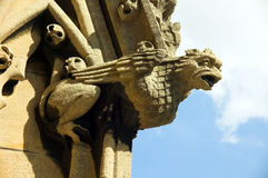 Virgin Oxford do St Mary do Gargoyle Fotografia de Stock Royalty Free