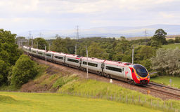 Virgin Pendolino Stock Photo