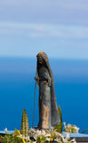 Virgin of porto moniz. Vertical pic of the virgin of Porto moniz Royalty Free Stock Photos