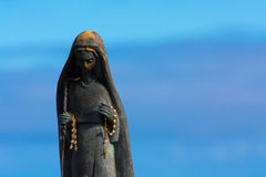 Virgin of porto moniz Stock Image