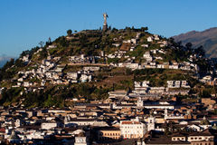 Virgin of Quito statue, Ecuador Stock Photo