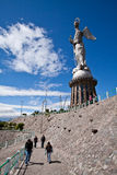 Virgin of Quito statue, Ecuador Stock Photos