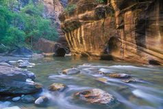 Virgin River Narrows Stock Images