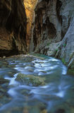 Virgin River Narrows Royalty Free Stock Photos