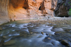 Virgin River Narrows Stock Image