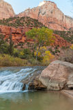 Virgin River Scenic in Fall Stock Images