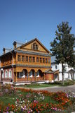 Virgin of Tikhvin Monastery. Exclusionary housing. Royalty Free Stock Photo