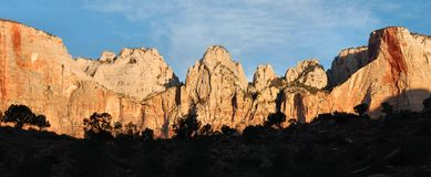 Virgin Towers, Zion Royalty Free Stock Photography