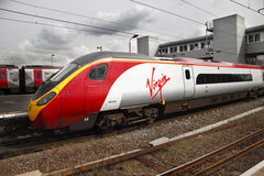 Virgin Train Stock Image