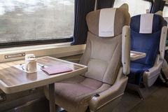 Virgin Trains First Class Royalty Free Stock Photo