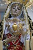 Virgin van pijnen Stock Afbeeldingen