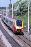 Virgin Voyager train on West Coast Main Line Royalty Free Stock Photography