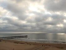 Virginia Beach, восход солнца VA в мае Стоковая Фотография