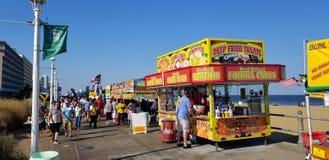 Virginia Beach Boardwalk Festival imagem de stock
