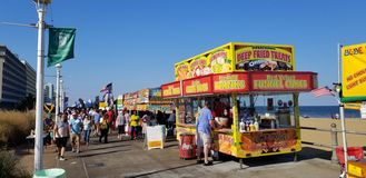 Virginia Beach Boardwalk Festival immagine stock