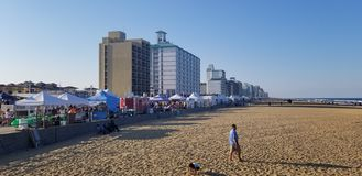Virginia Beach Boardwalk Festival fotografie stock