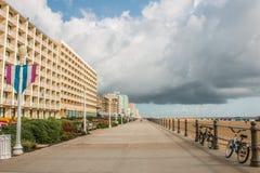 Virginia Beach Boardwalk Stock Image