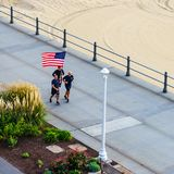 Virginia Beach Boardwalk, Virginia Beach, la Virginia fotografie stock libere da diritti