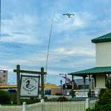 Virginia Beach Boardwalk, Virginia Beach US - September 12, 2017 Atlantic Wildfowl Heritage Museum. Boardwalk, Virginia Beach US - September 12, 2017 Atlantic Stock Photo
