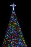 Virginia Beach Christmas Tree Royalty Free Stock Images