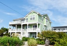 Free Virginia Beach Eastern Shore Oceanfront Home Stock Photography - 79706962