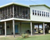 Virginia beach eastern shore  oceanfront  home Royalty Free Stock Photo