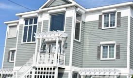 Virginia beach eastern shore  oceanfront  home Stock Images