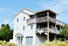 Virginia beach eastern shore  oceanfront  home Royalty Free Stock Photography