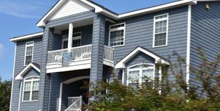 Virginia beach eastern shore  oceanfront  home Stock Photography