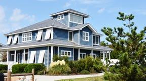 Virginia beach eastern shore  oceanfront  home Stock Photos