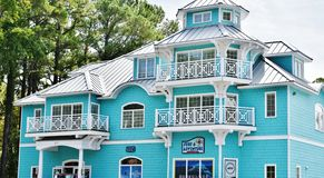 Virginia beach eastern shore  real estate agency home Royalty Free Stock Photo