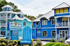 Virginia beach eastern shore  real estate agency home Royalty Free Stock Images